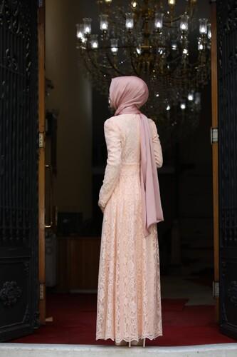 Ahunisa Henna Abiye Somon 5646 - Thumbnail