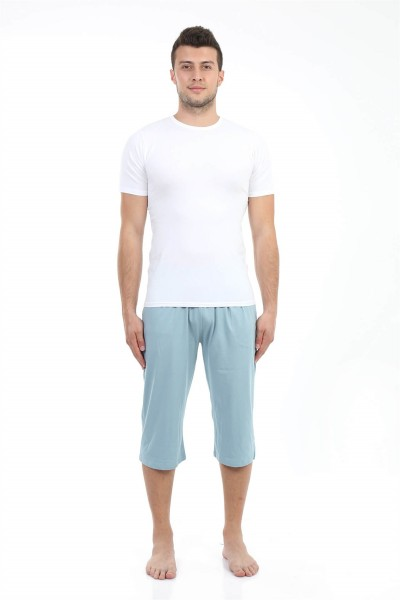 Moda Çizgi - Moda Çizgi Erkek Pamuk Kapri 27194