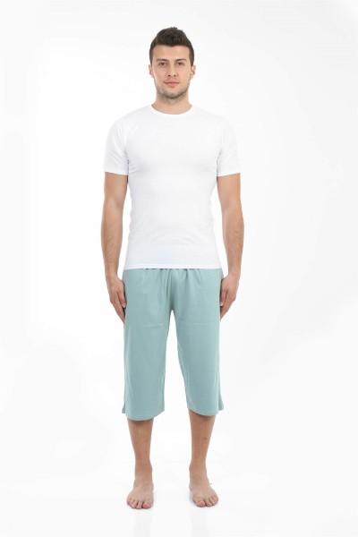 Moda Çizgi - Moda Çizgi Erkek Pamuk Kapri 27197