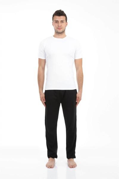 Moda Çizgi - Moda Çizgi Erkek Pamuk Tek Alt Pijama 27201