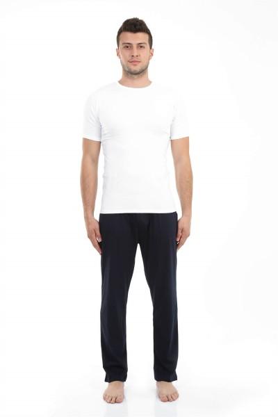 Moda Çizgi - Moda Çizgi Erkek Pamuk Tek Alt Pijama 27204