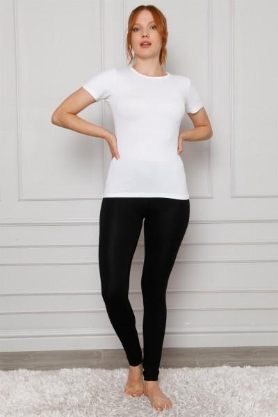 Moda Çizgi - Moda Çizgi Penye Likralı Tayt 5874P