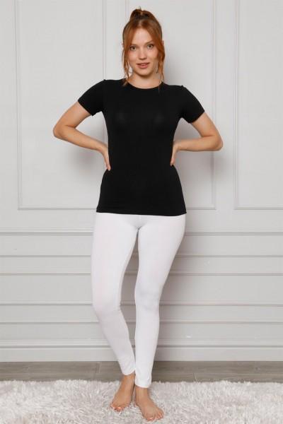 Moda Çizgi - Moda Çizgi Penye Likralı Tayt 5877P