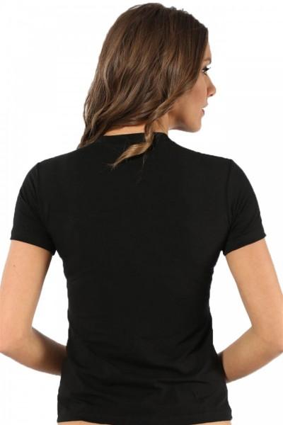 Moda Çizgi Bayan Kısa Kol Body 232 - Thumbnail