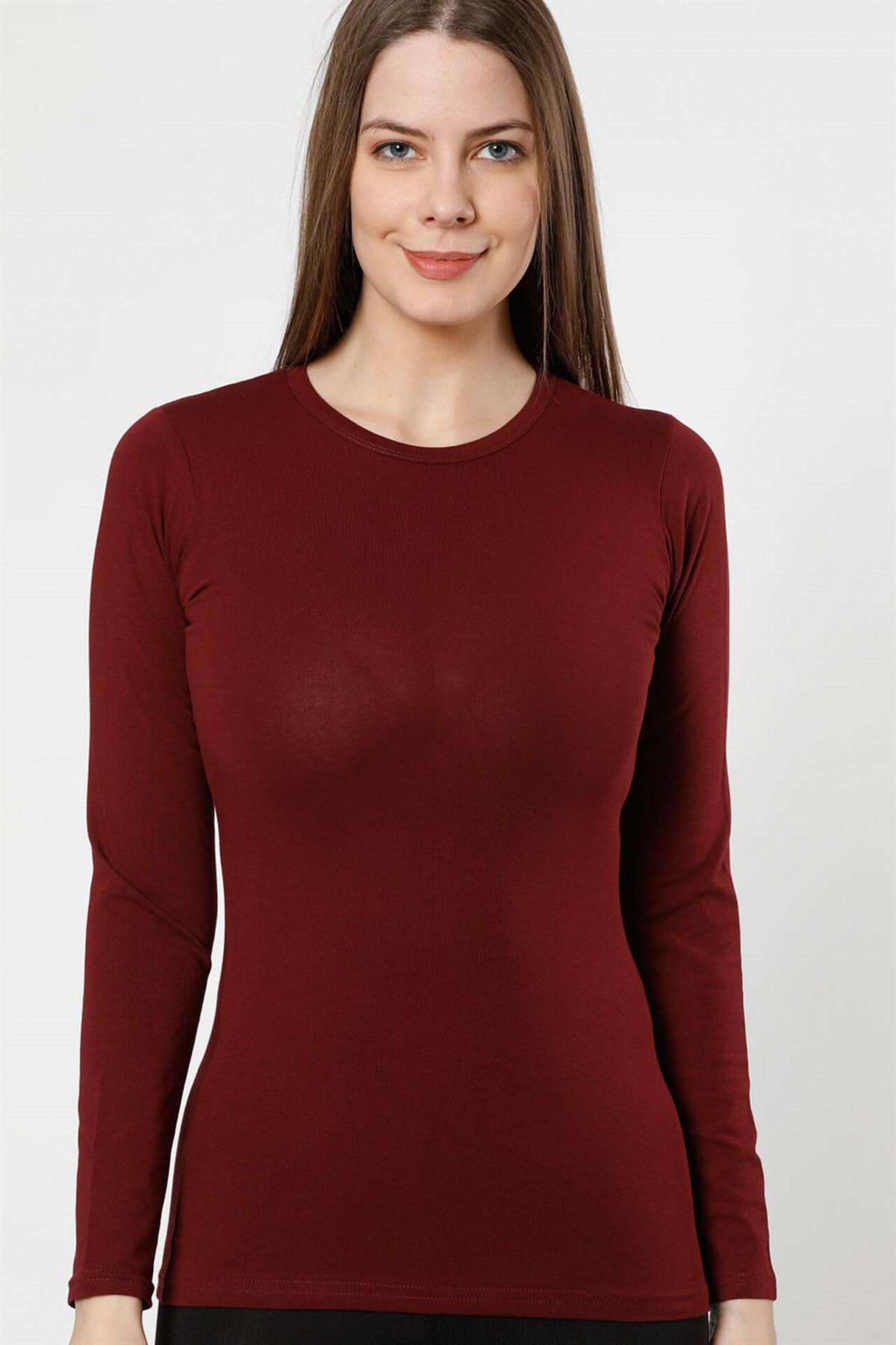 Moda Çizgi Bayan Uzun Kol Body 250BO