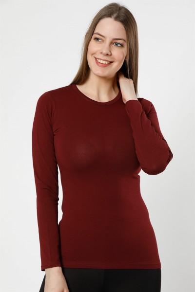 Moda Çizgi Bayan Uzun Kol Body 250BO - Thumbnail