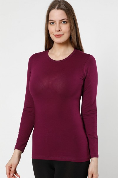 Moda Çizgi Bayan Uzun Kol Body 250M - Thumbnail