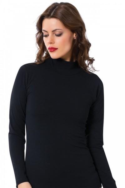 Moda Çizgi - Moda Çizgi Bayan Uzun Kol Boğazlı Body 247