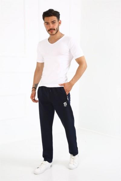 Moda Çizgi Erkek Pamuk Alt Eşofman 6750 - Thumbnail