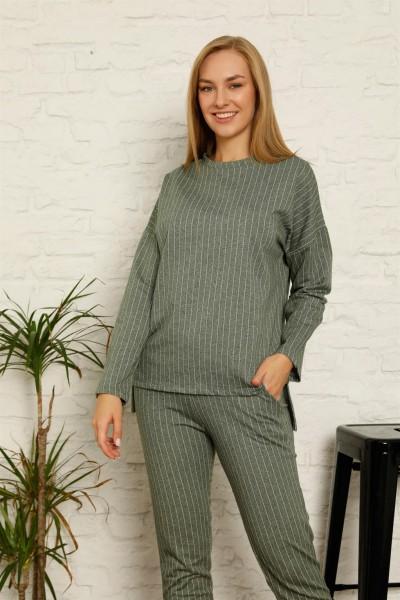 Moda Çizgi - Moda Çizgi Kadın Pamuk Eşofman Takım 9033