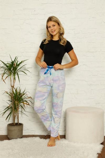 Moda Çizgi - Moda Çizgi Kadın Pamuklu Alt Pijama 27355