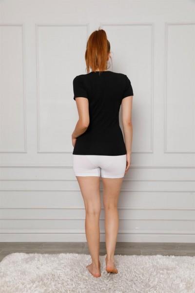 Moda Çizgi Kadın Penye Boxer 5871 - Thumbnail