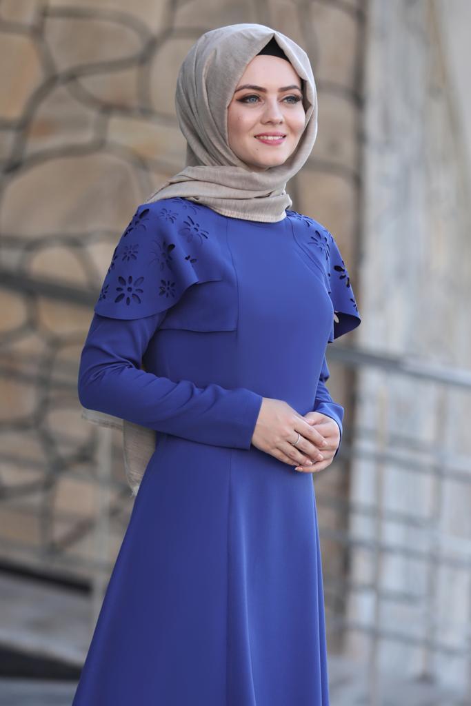 Pelerinli Takım Elbise mc0034 İndigo