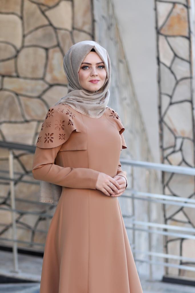 Pelerinli Takım Elbise mc0034 Taba